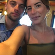 Last summer on our first cruise together
