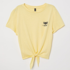 An example of a cute graphic tee