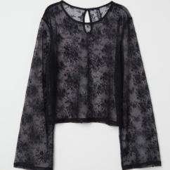 Subtle but fancy lace top