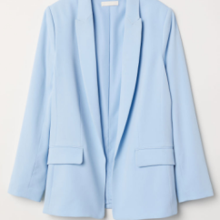 A blazer to wear to work or with ripped jeans and a tee for a cute look